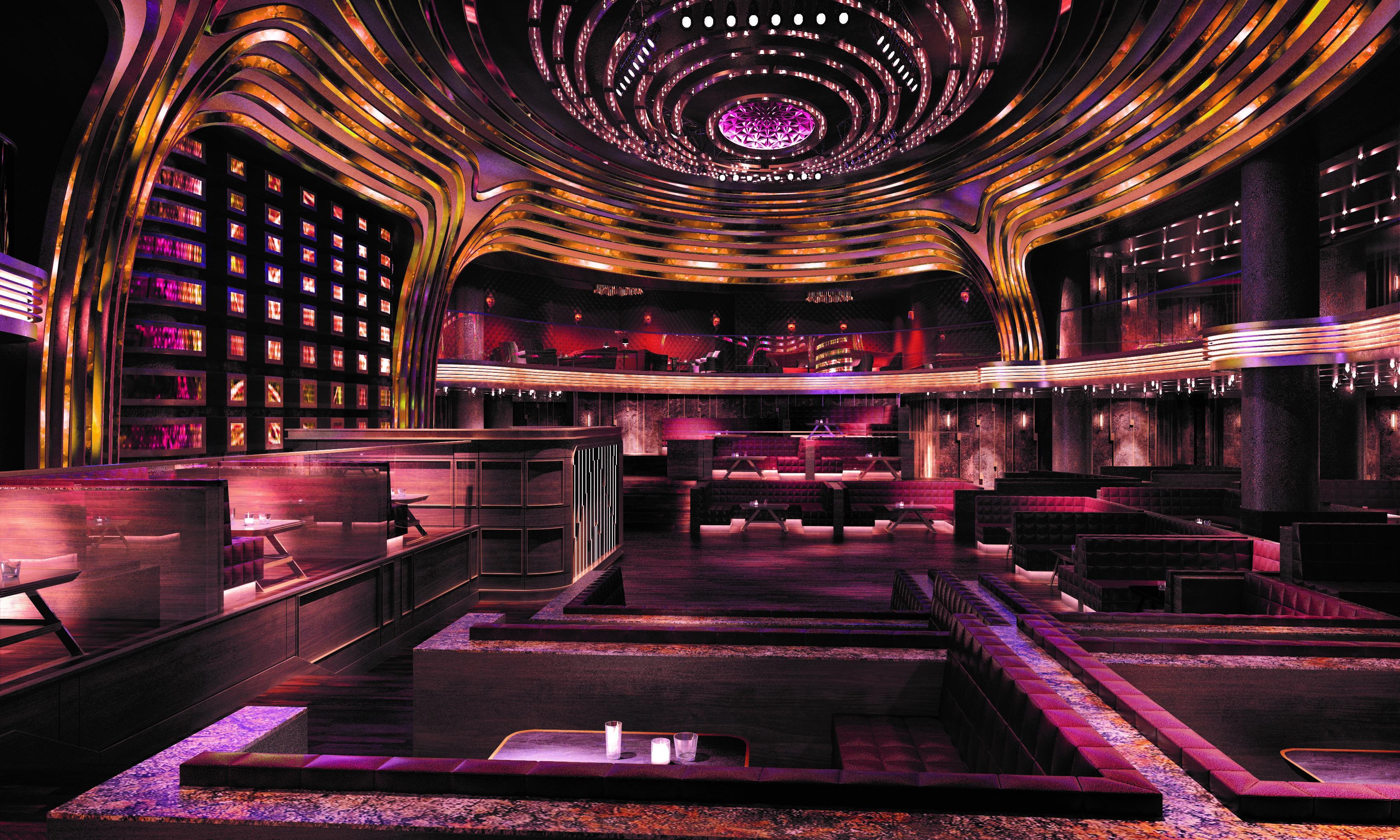 Top 10 night clubs in Las Vegas
