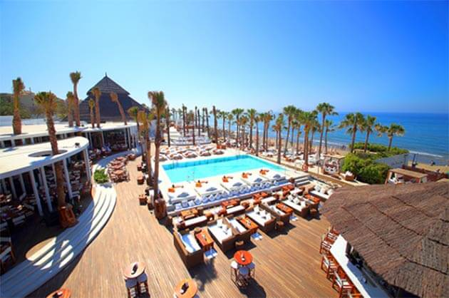 Top 10 night clubs in Marbella